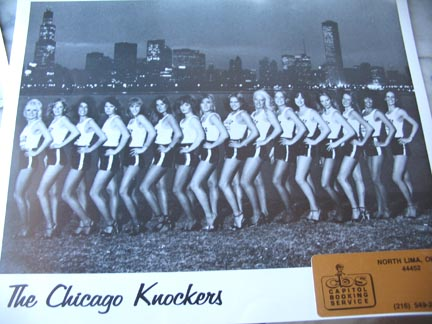 The Chicago Knockers circa 1980